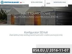 Miniaturka domeny www.protan-elmark.com.pl