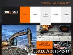 Miniaturka domeny www.protech-gliwice.pl
