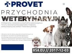 Miniaturka provet.torun.pl (Przychodnia weterynaryjna)