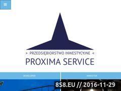 Miniaturka domeny www.proxima-service.pl