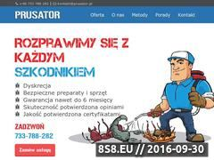 Miniaturka Dezynsekcja, deratyzacja, odpluskwianie i pluskwy (prusator.pl)