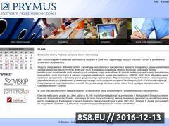 Miniaturka domeny www.prymus-ip.com