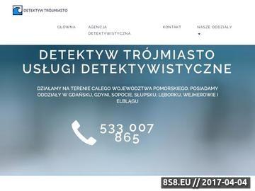 Zrzut strony Detektyw Trójmiasto - Słupsk - Elbląg