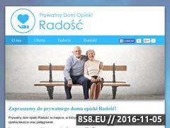 Miniaturka domeny www.prywatnydomopiekizgierz.pl