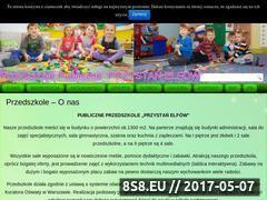 Miniaturka domeny www.przedszkole-przystanelfow.pl