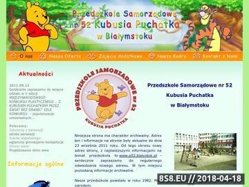 Zrzut strony Przedszkole Samorządowe w Białymstoku