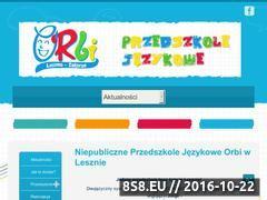 Miniaturka domeny przedszkoleorbi.pl