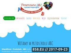Miniaturka www.przedszkoleplock.pl (Prywatne przedszkole w Płocku)