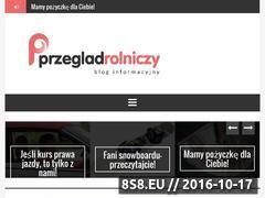 Miniaturka domeny www.przegladrolniczy.pl