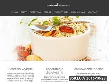 Zrzut strony Catering dietetyczny