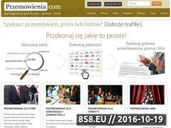 Miniaturka domeny przemowienia.com