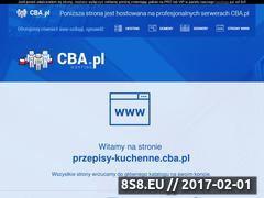 Miniaturka domeny przepisy-kuchenne.cba.pl