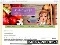 Miniaturka przepisy-kulinarne-kuchcika.blogspot.com (Blog z przepisami kulinarnymi)