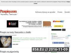 Miniaturka Przepisy kulinarne (www.przepisy.com)