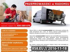 Miniaturka domeny www.przeprowadzamy.radom.pl