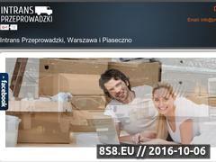Miniaturka domeny www.przeprowadzki-intrans.pl