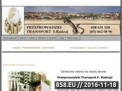 Miniaturka domeny www.przeprowadzki-transport-bialystok.pl