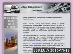 Miniaturka domeny www.przeprowadzki.artwest.pl