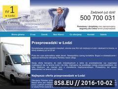Miniaturka domeny www.przeprowadzki.lodz.pl