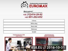 Miniaturka domeny www.przeprowadzkieuromax.pl