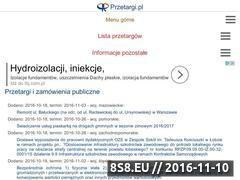 Miniaturka domeny www.przetargi.pl