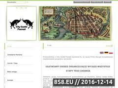 Miniaturka domeny www.przewodnicy-poznan.com.pl