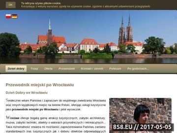 Zrzut strony Przewodnik miejski po Wrocławiu Jolanta Szczepańska