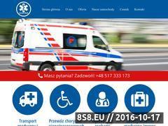Miniaturka domeny www.przewozchorych.pl