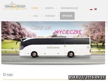 Zrzut strony Wynajem busów Warszawa