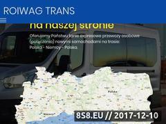 Miniaturka przewozy-polska-niemcy.com (Przewozy osób Niemcy Polska)