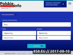 Miniaturka przewozy.polskieinfo.eu (Portal zrzeszających przewoźników po Europie)