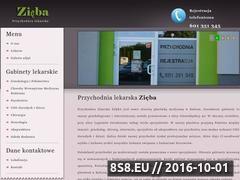 Miniaturka domeny www.przychodniazieba.pl