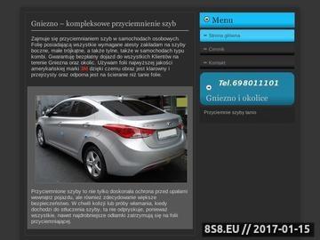 Zrzut strony Serwisacja - przyciemnianie szyb samochodowych