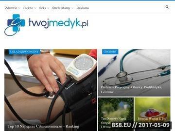 Zrzut strony Portal o leczeniu