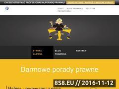 Miniaturka domeny www.przyjaznyprawnik.pl
