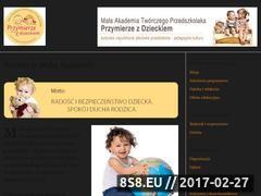 Miniaturka domeny www.przymierzezdzieckiem.pl