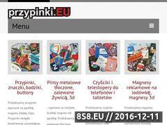 Miniaturka domeny www.przypinki.eu