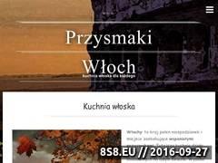 Miniaturka przysmakiwloch.pl (Przepisy na najlepsze włoskie dania i potrawy)