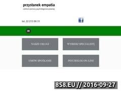 Miniaturka przystanekempatia.pl (Pomoc psychologiczną online i stacjonarnie)