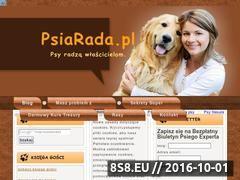 Miniaturka Blog o psach, darmowe szkolenie psa - PsiaRada.pl (psiarada.pl)