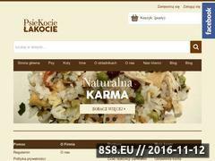 Miniaturka domeny www.psiekocielakocie.pl