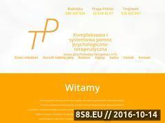 Miniaturka www.psycholodzy-terapeuci.info (Integracje sensoryczną i pomoc psychologa)