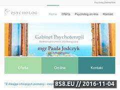 Miniaturka psycholog-jodczyk.pl (Strona gabinetu i informacje o psychologii.)