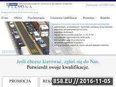 Miniaturka domeny www.psychotechnika.pl