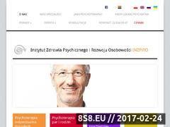 Miniaturka domeny www.psychoterapeuci.pl