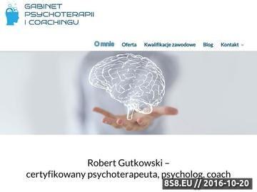 Zrzut strony Psychoterapia nerwic, depresji, life coaching i coaching rodziców