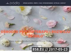 Miniaturka domeny www.psychoterapia-zrodlo.pl