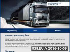 Miniaturka Badanie psychologiczne kierowców - <strong>psychotesty</strong> - Żary i Żagań (psychotesty-zary.pl)