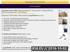 Miniaturka psychotestygorzow.pl (Pracownia psychotestów w Gorzowie)