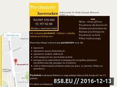 Miniaturka Badania psychotechniczne Inowrocław (psychotestyinowroclaw.pl)